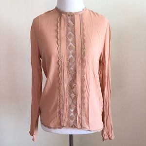 H&M Lace Detailed Blouse